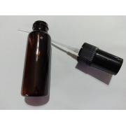 Frasco tipo Bisnaga de Plástico Âmbar 30 ml- 5 unidades