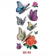 Tatuagem adesiva 3D-02