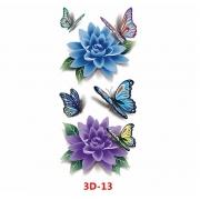 Tatuagem adesiva 3D-13 X-390 MINI