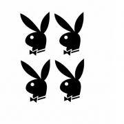 Tatuagem adesiva 3D-Playboy black MINI