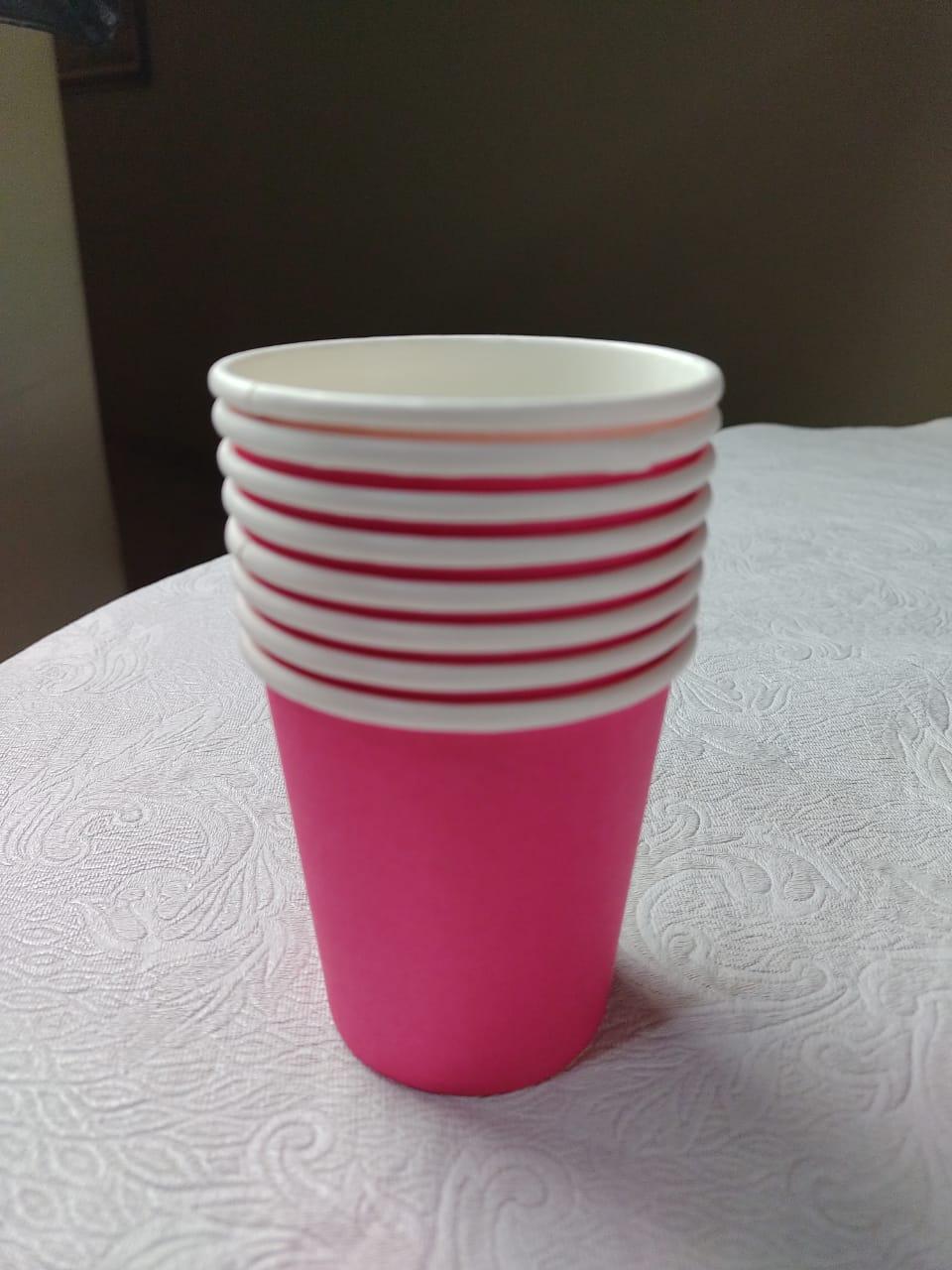 Copo Descartável (Biossegurança) Rosa Pink
