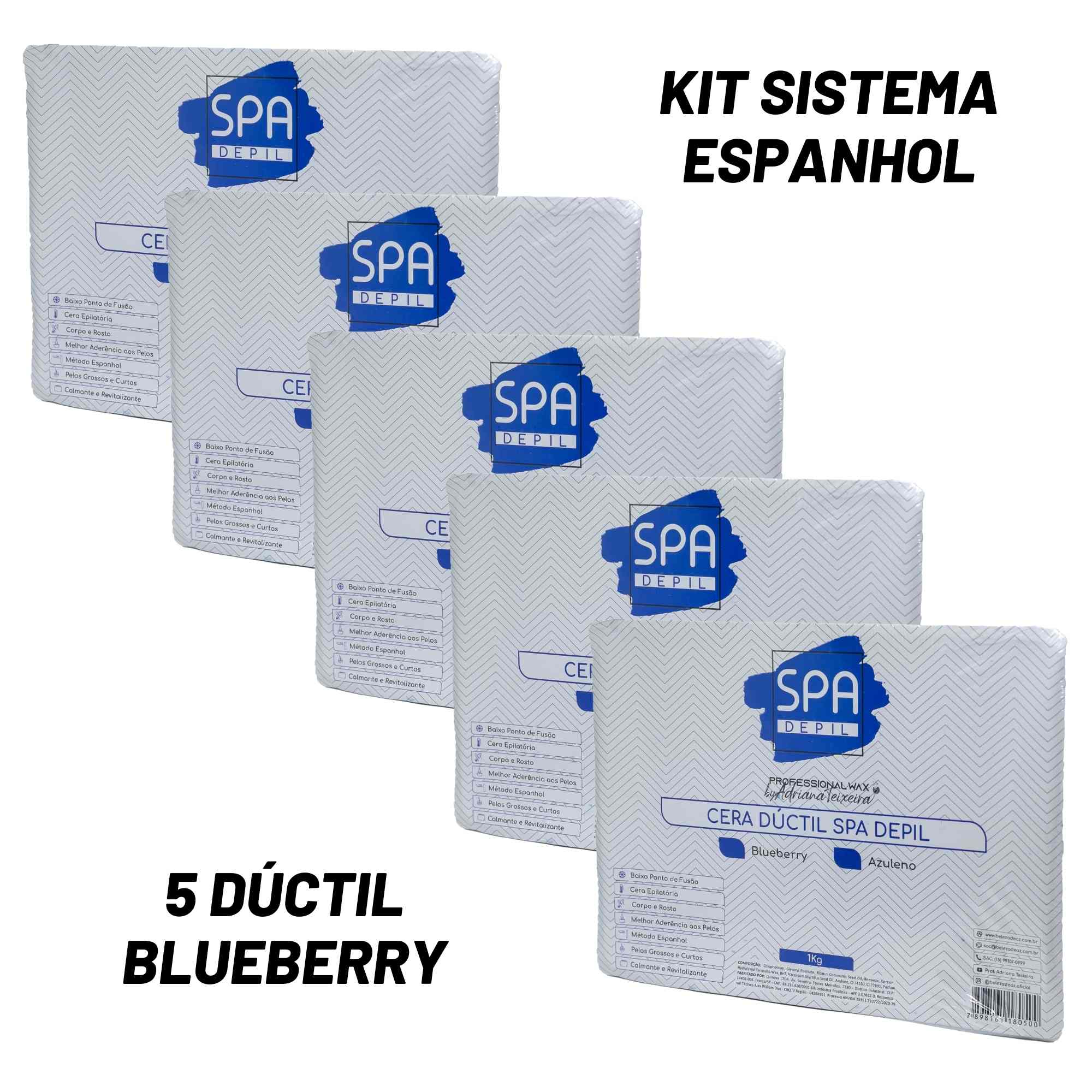 Kit Economico Sistema Espanhol - Cera Ductil+Esp.Angular