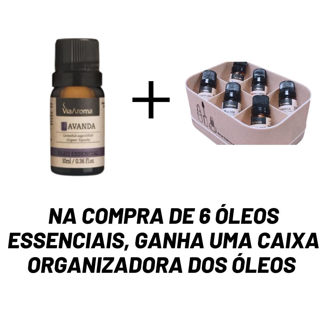 Kit Óleos Essenciais- Brinde Caixa Organizadora