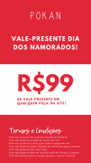 Vale Presente - R$99,00