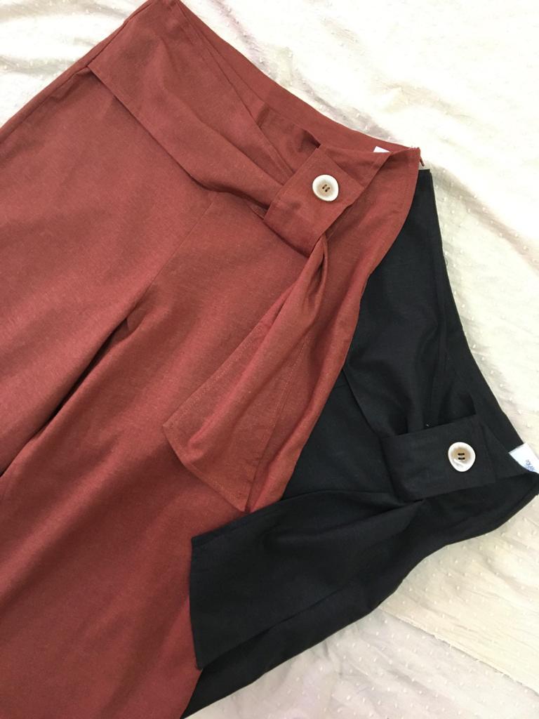 Calça Pantacout Linho Japonesa