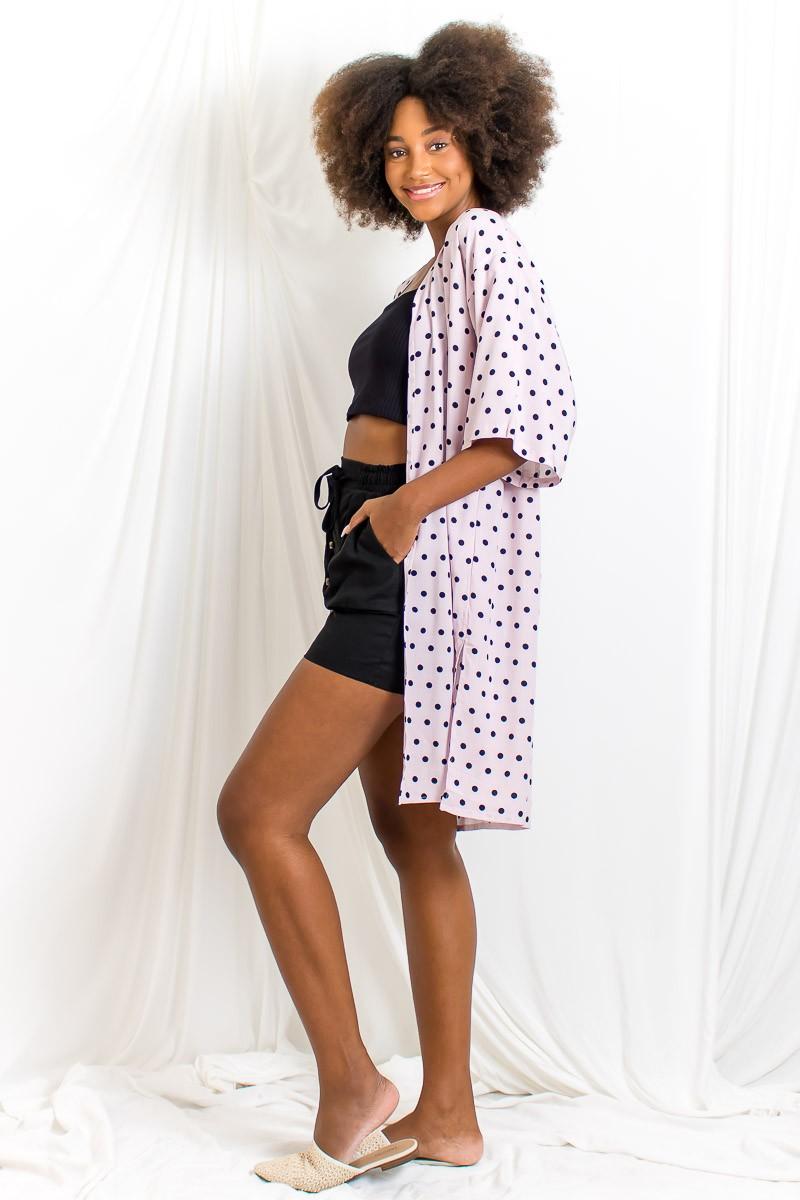 Kimono Longo Fendas