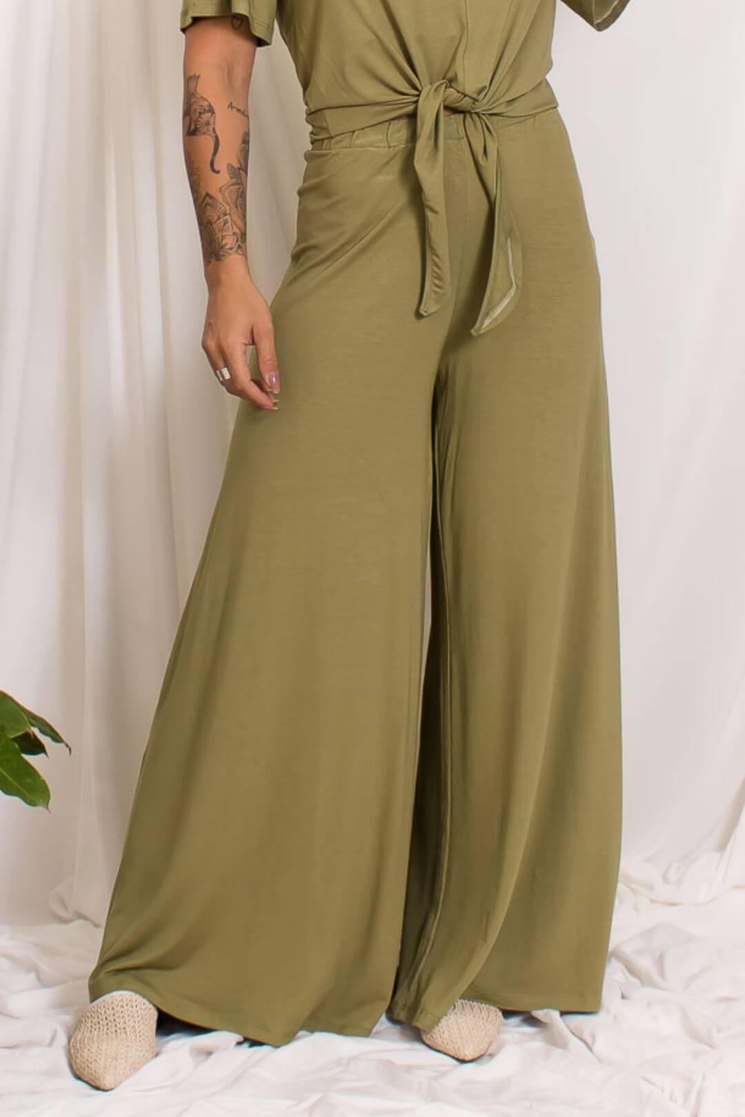 Pantalona Malha Básica