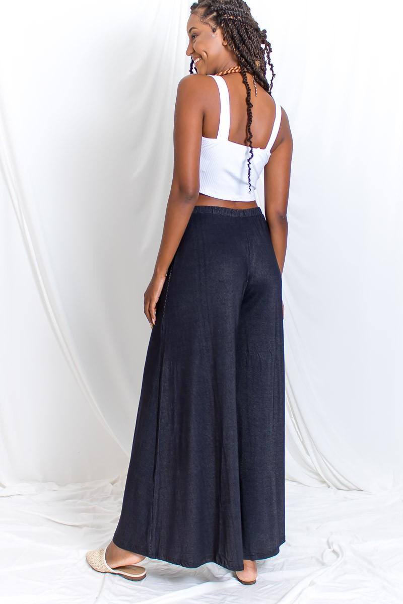 Pantalona Malha Trabalhada