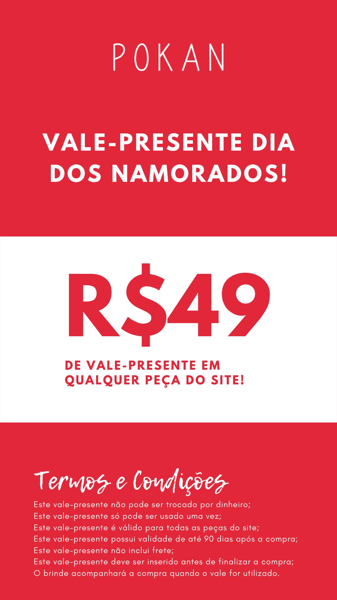 Vale Presente - R$49,00