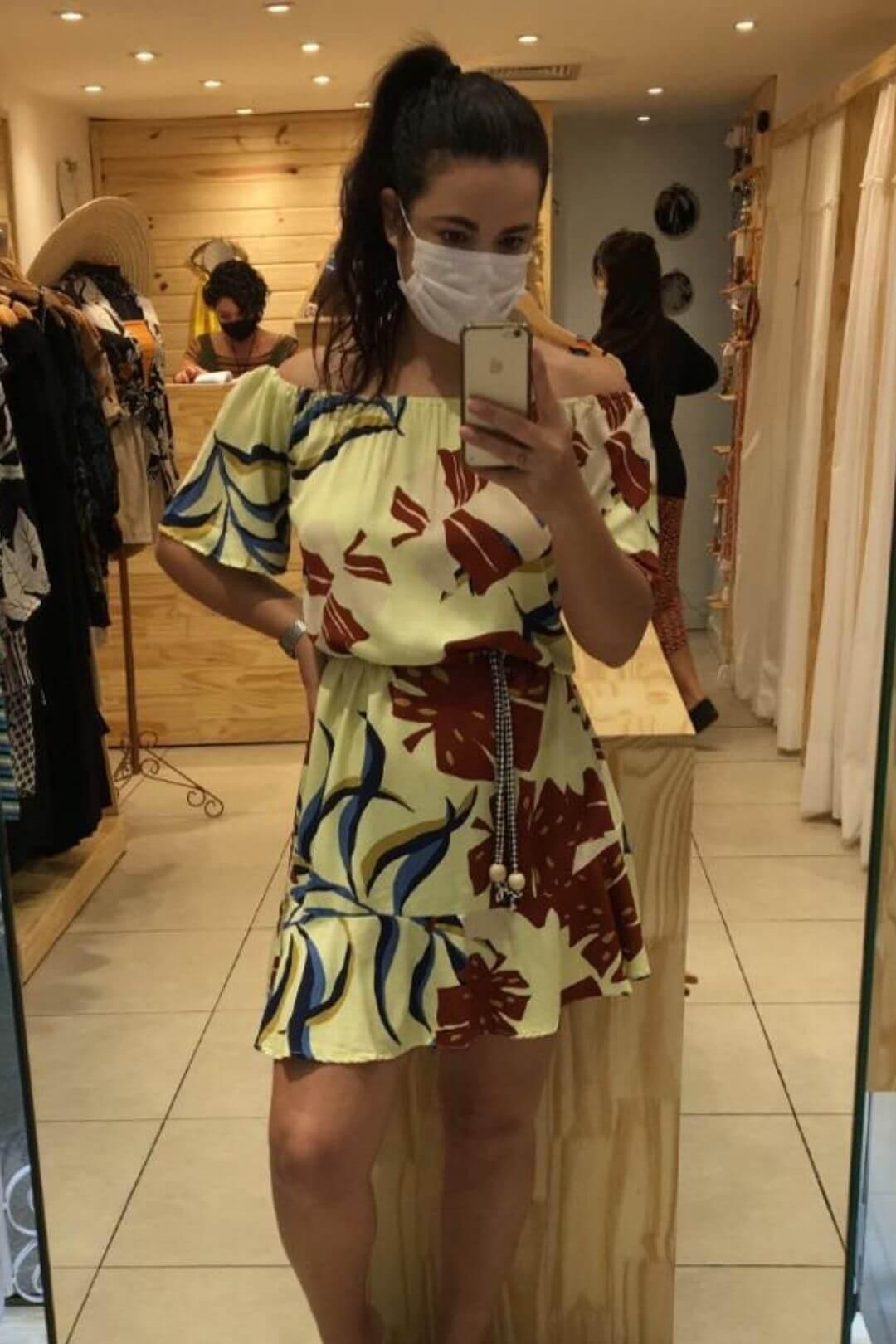 Vestido Cigana e Babado