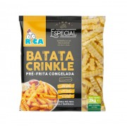 Batata Crinkle Rica - 2kg
