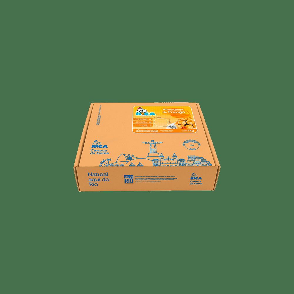 Almôndega de Frango Rica -  3kg