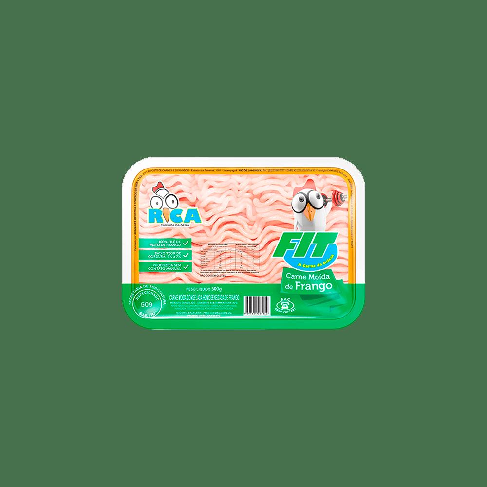 Carne Moída de Frango Fit Rica - Embalagem de 500g