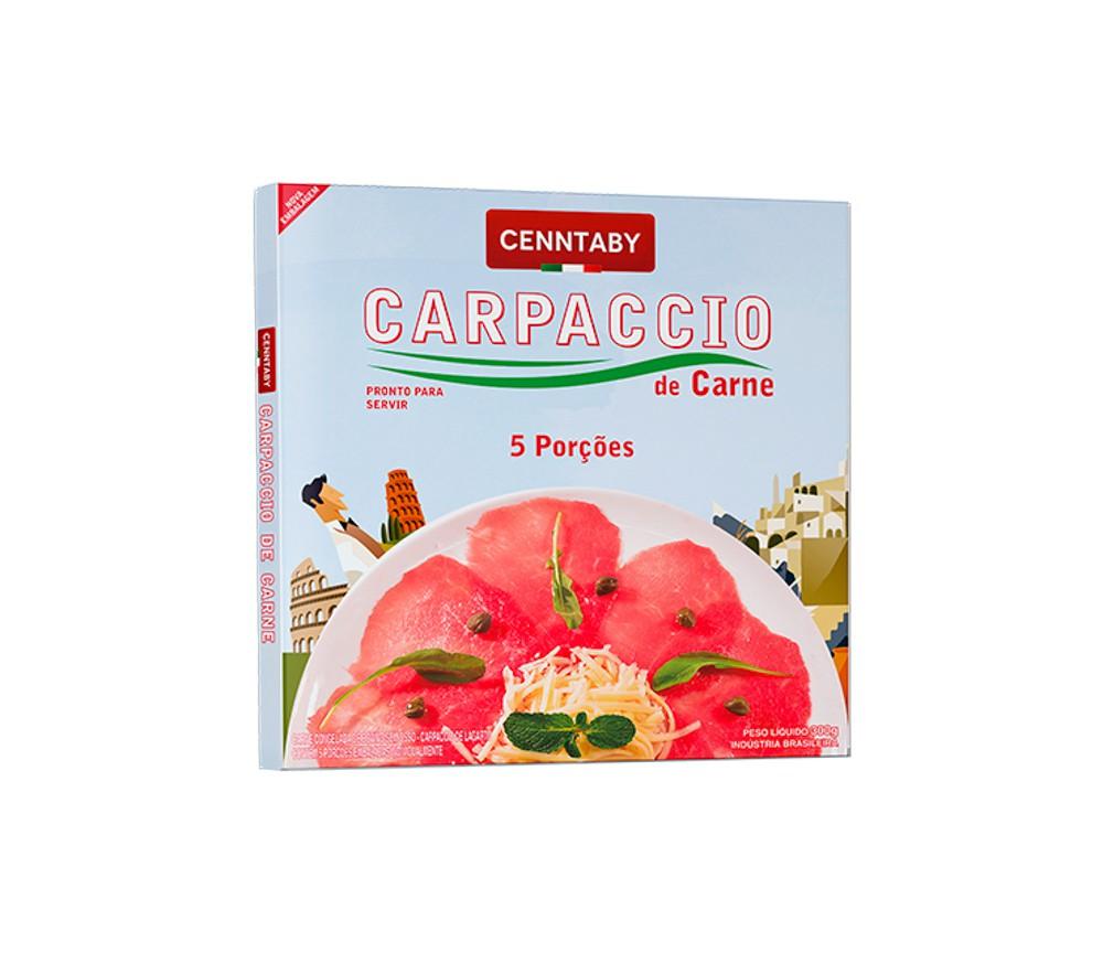 Carpaccio Bovino Cenntaby - Embalagem de 300g