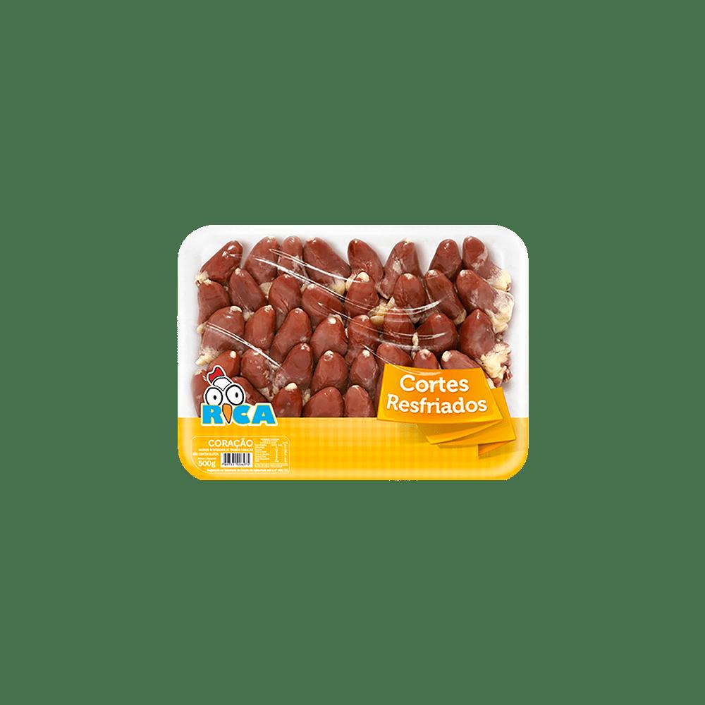 Coração de Frango Resfriado Rica Bandeja - 500g