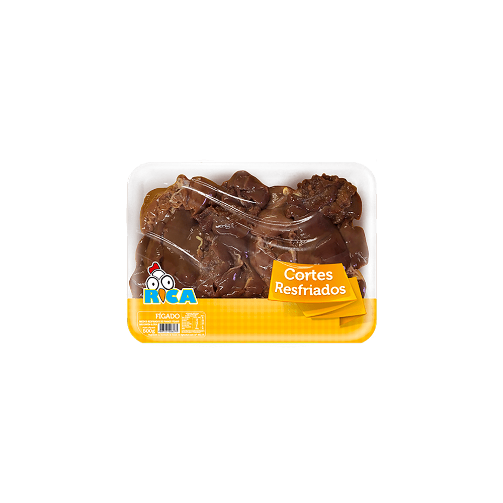 Figado de Frango Resfriado Rica Bandeja - 500g