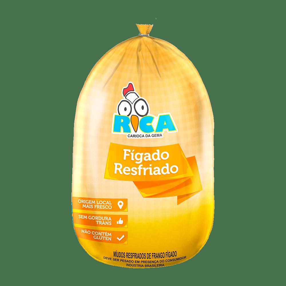 Fígado de Frango Resfriado Rica - Caixa com 25kg
