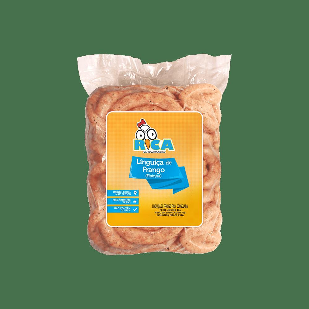 Linguica de Frango Fina Rica - 4kg
