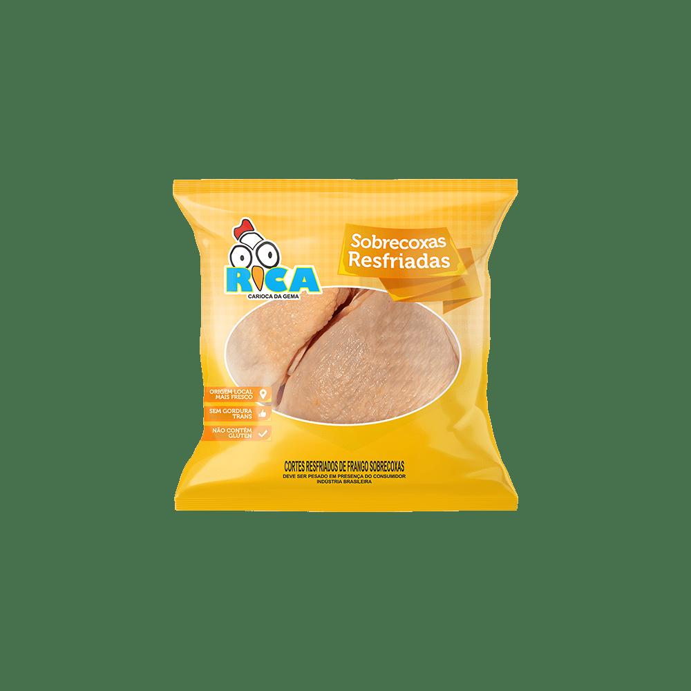 Sobrecoxa de Frango Resfriada Rica - Caixa com 24kg