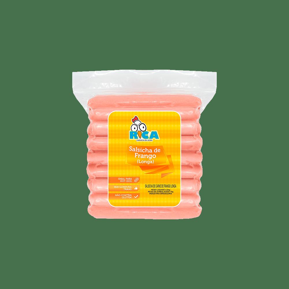 Salsicha de Frango Longa Rica - 2,5kg