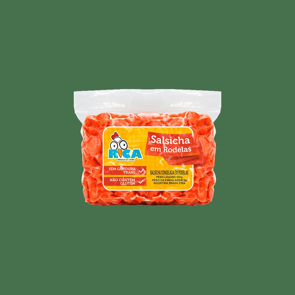 Salsicha em Rodelas Congelada Rica - 600g
