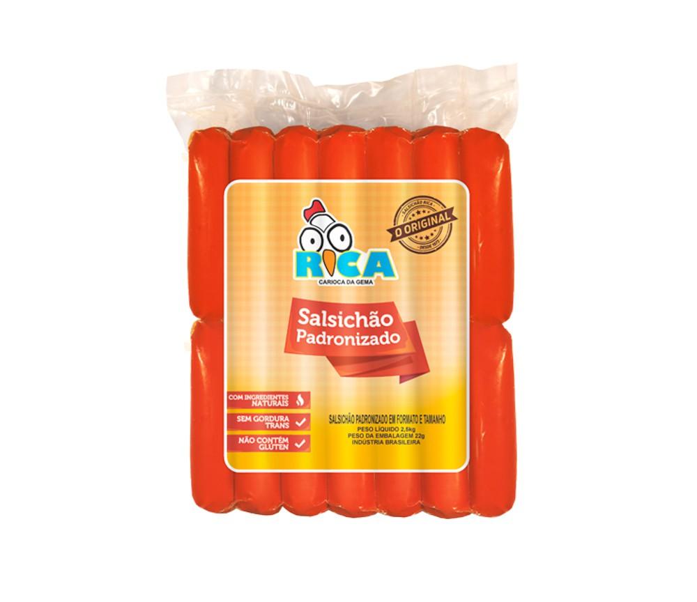 Salsichão Padronizado Rica - 2,5kg