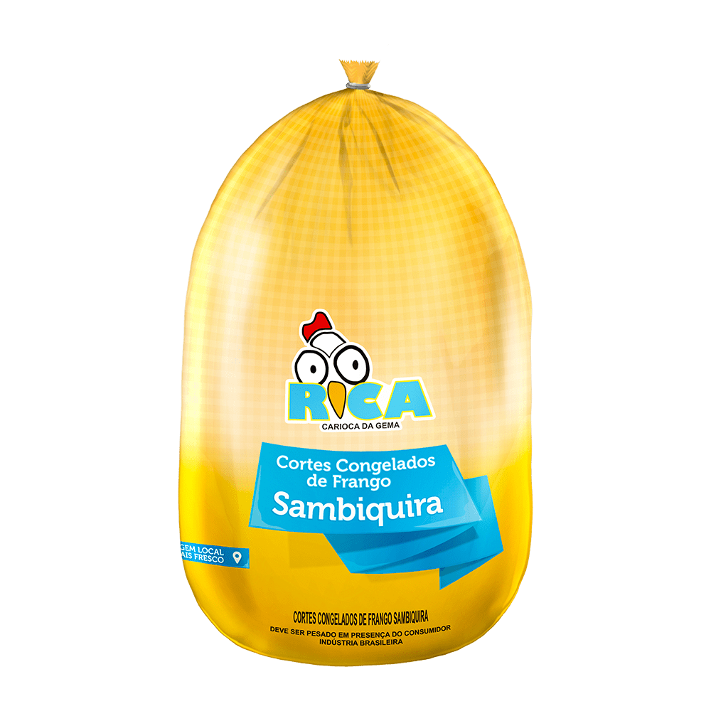 Sambiquira de Frango Congelado Rica