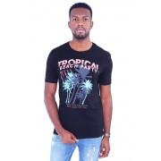 Camiseta Tropical Preta