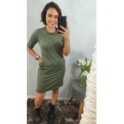 Vestido Kelli - Verde Militar