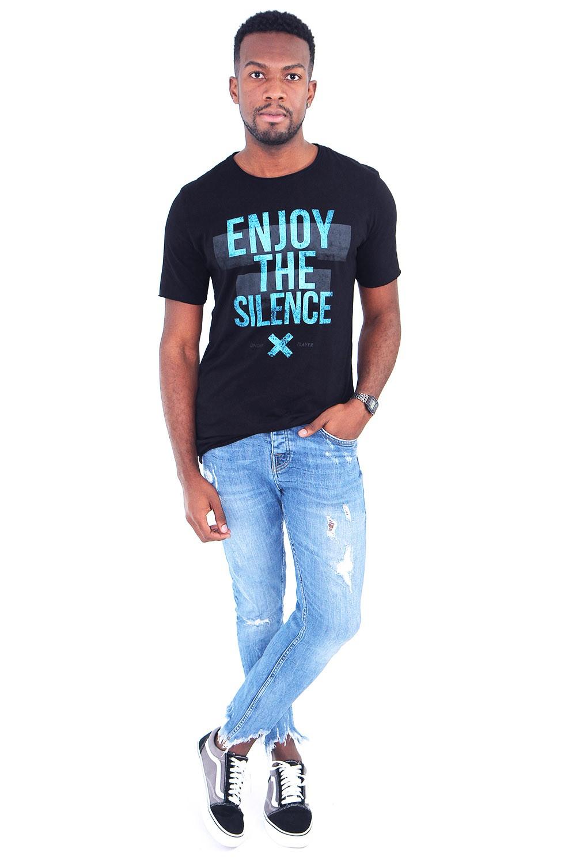 Camiseta Enjoy Preta