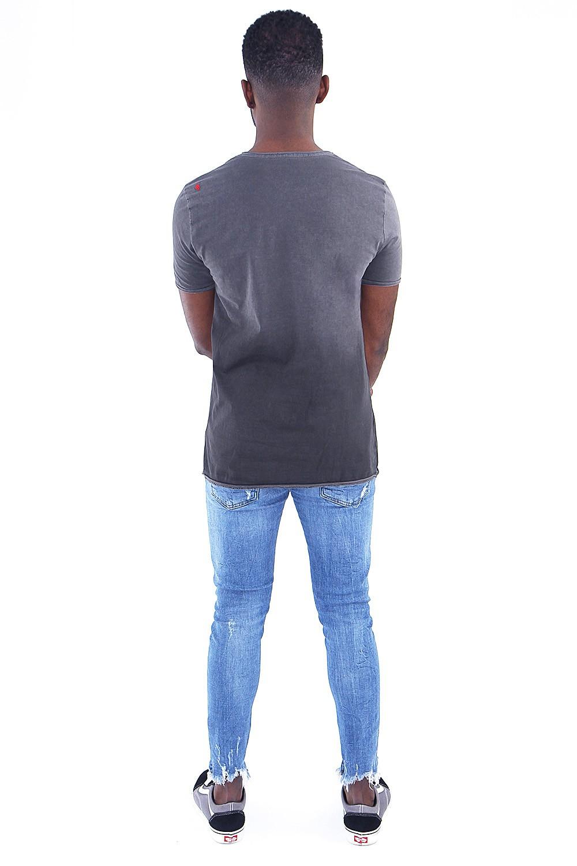 Camiseta Estonada Degradê Spray