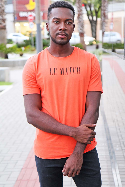 Camiseta LeMatch Pincel Laranja