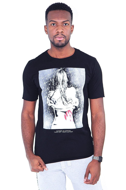 Camiseta Mulher Chuva