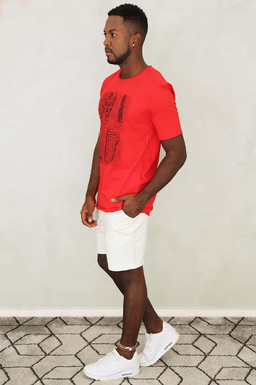 Camiseta Wild Vermelha