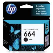 CARTUCHO HP 664 PRETO F6V29AB