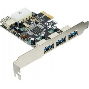 PLACA PCI-EXPRESS 4XUSB 3.0