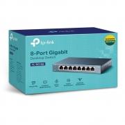 Switch TP Link 8 Portas 10/100/1000Mbps Mesa TL SG