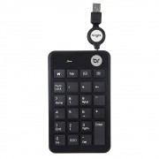TECLADO NUMERICO RETRATIL USB