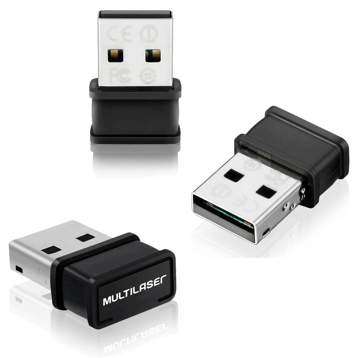 ADAPTADOR WIRELESS NANO USB 150 MBPS DONGLE (05)