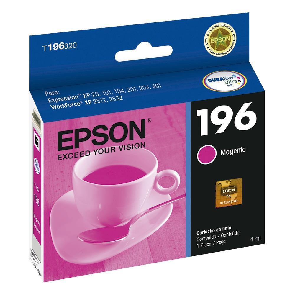 C.T. 196 EPSON T196320-BR MAGENTA