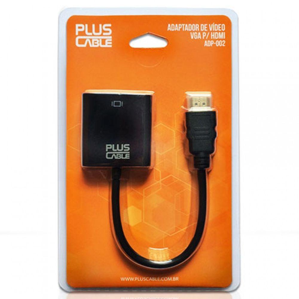 CABO ADAPT VGA F/HDMI M ADP-002BK PLUSC