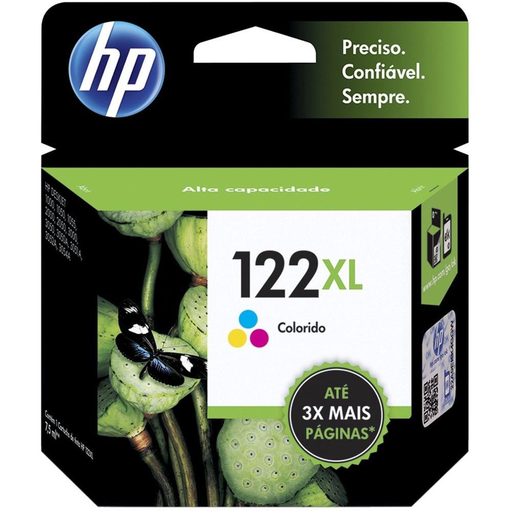 CARTUCHO HP 122XL COLORIDO DJ2050 CH564HB