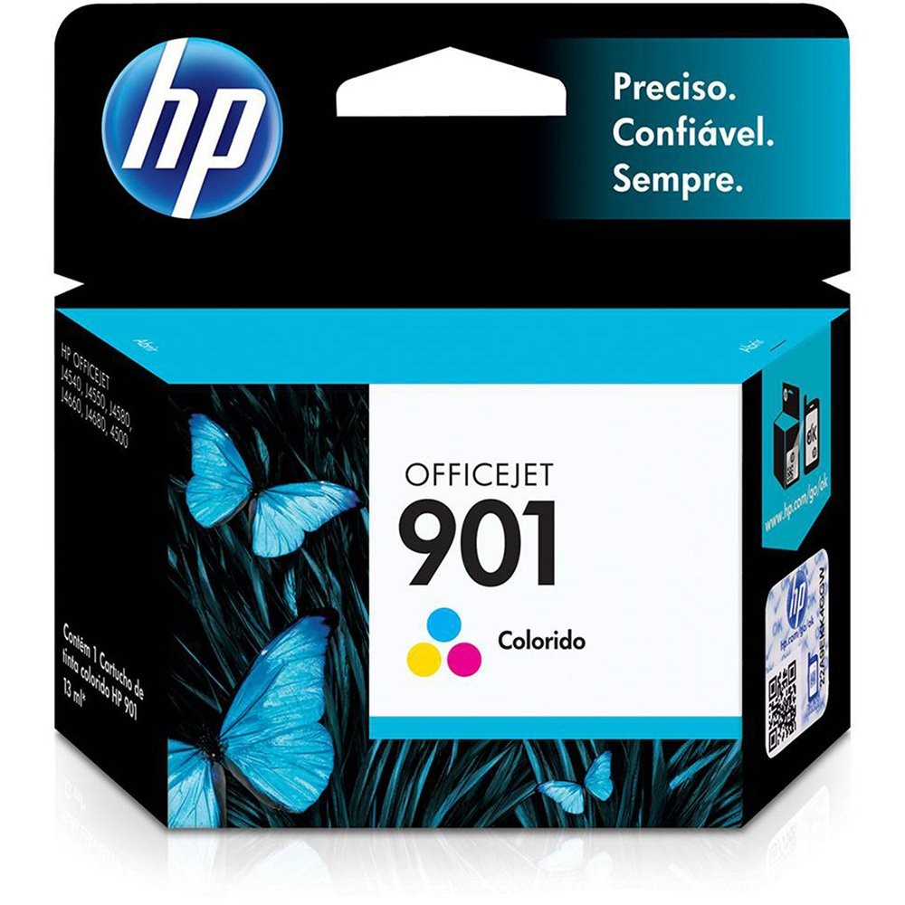 CARTUCHO HP 901 COLORIDO J4660 CC6564AB