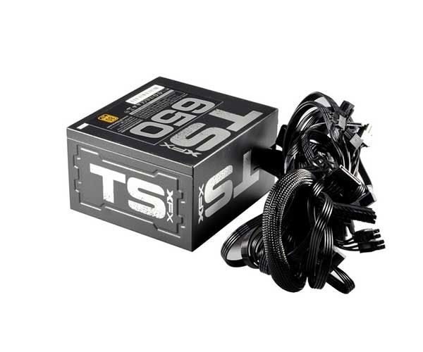 FONTE 650W XFX TS SERIES FULL WIRED 80+ GOLD P1-65