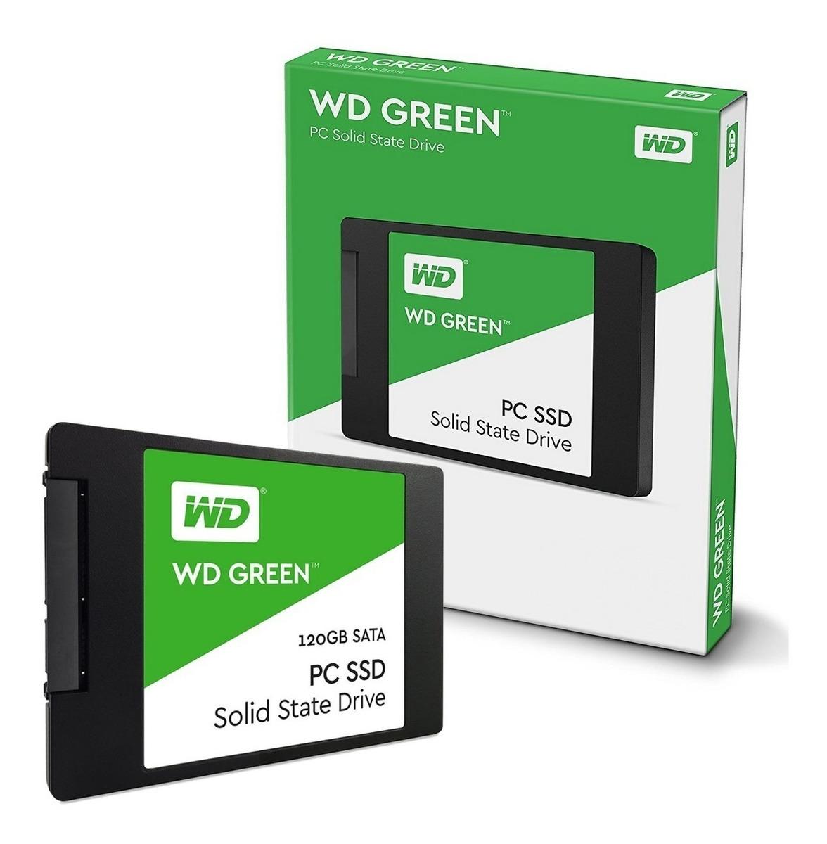 HD SSD 120 GB WD WDS120G2G0A