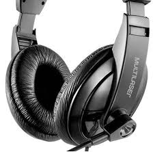 Headfone Multilaser c/Microfone e Controle de Volu