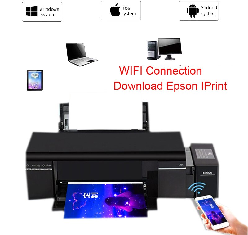 IMP. EPSON ECOTANK L805 110V
