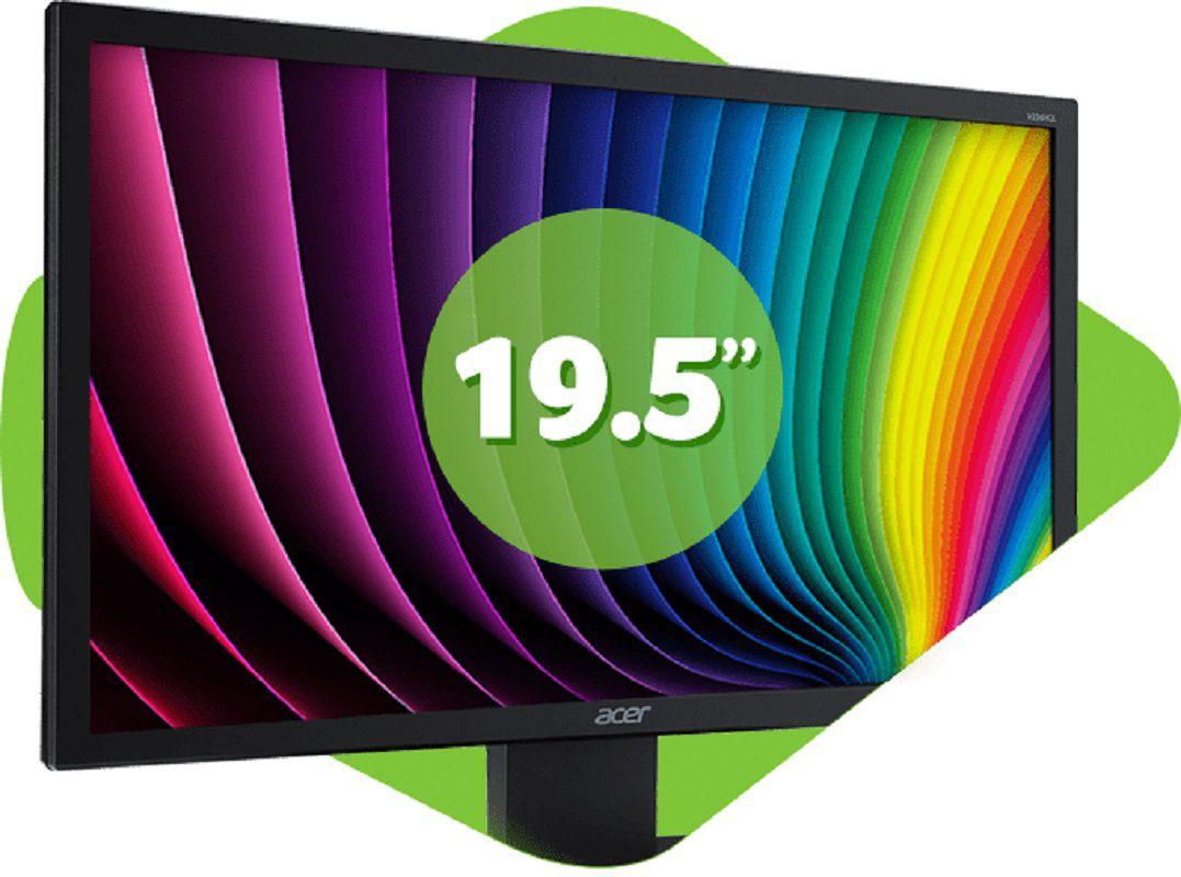 "MONITOR ACER LED 19.5"" V206HQL HDMI"