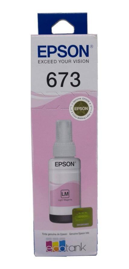 REFIL TINTA 673 VMC L800 T673620 EPSON