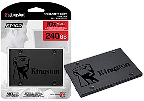 SSD KINGSTON 240GB SATA 3 SA400S37/240G
